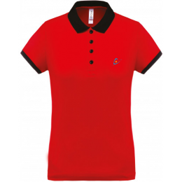 Polo maille piquée Performance femme